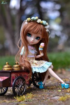 Good Afternoon sister and all. Have a relaxing afternoon xxx❤❤❤😘🍧 Anime Dolls, Ooak Dolls, Blythe Dolls, Girl Dolls, Beautiful Barbie Dolls, Pretty Dolls, Kawaii Doll, Kawaii Anime, Cute Baby Dolls