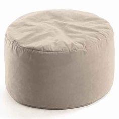 #Sitzsack von Valerian Design - Bodenkissen Microfaser: Beige