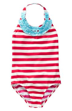 Mini Boden Ruffle Swimsuit for tots