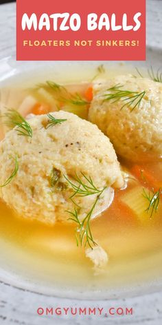 Matzo Ball Soup with Homemade Chicken Stock is a must have recipe for your Jewish Holiday table or anytime warm, comforting soup is a must. This recipe includes all the make ahead options and best tips and tricks. Matzo Ball Recipe, Balls Recipe, Matzo Ball Soup Recipe Vegetarian, Chicken Matzo Ball Soup Recipe, Homemade Chicken Stock, Homemade Soup, Homemade Recipe, Best Soup Recipes, Caldo De Pollo