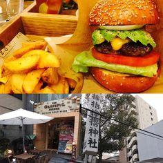 めっちゃおいしいハンバーガーとめっちゃすごい神社 #gratefulburger  #これぞワオ感 #内装も接客も最高 #サムハラ神社  #パワースポット