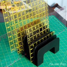I love all my Omnigrid rulers, but they can be kind of awkward to store. I came up with this solution and it has worked SO well for me! I...