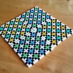 Coaster set perler beads by malins.perler