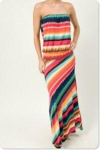 Sorbet Maxi Dress $110