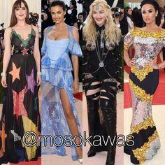 Mosokawas - Fashion Reviews Four Ladies Mosokawas Look: Worst Dressed MET Gala 2016! Photos: 1- @dakotajohnson wearing @gucci; 2- @irinashayk wearing @givenchyofficial; 3- Madonna wearing @givenchyofficial; 4- Demi Lovato wearing Moschino #mosokawas #lookdodia #lookoftheday #moda #estilo #style #insta #fashion #pinterest #ootd #outfit #outfitoftheday #instafashion #metgala #metgala2016 #redcarpet #dakotajohnson #irinashayk #givenchy #madonna #demilovato #gucci #moschino
