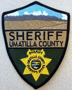 Umatilla county Sheriff OR patch
