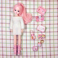 .@xylona_ | Pink!Pink!!Pink!!! ꒰ ˊ̤ ॢˣ ૢˋ̤꒱✩°.!!! #licca #liccachan #liccadoll #pink | Webstagram