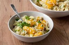 Bulgur and orange salad and if you're new to using bulgur in our cooking, there's a helpful video :)