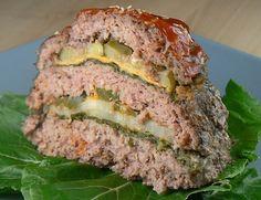 Triple Hamburger / Cheeseburger Slow Cooker Meatloaf