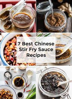 7 Best Chinese Stir Fry Sauce Recipes Make these extra fragrant stir fry sauces ahead so you can finish prepping and cooking a delicious healthy dinner in under 20 minut. Chinese Sauce Recipe, Chinese Stir Fry Sauce, Asian Stir Fry, Asian Garlic Sauce Recipe, Best Stir Fry Recipe, Stir Fry Recipes, Sauce Recipes, Cooking Recipes, Healthy Cooking