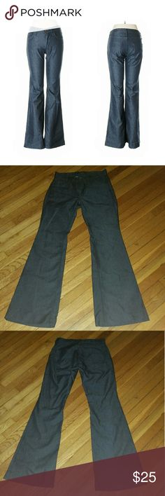 """James Cured Low Rise Jeans James Cured by Seun 27 """" waist Low Rise Flared Leg 33"""" Inseam  Dark Wash Pre-owned but well cared for James Jeans Jeans Flare & Wide Leg"""