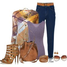 I'm Just Wild About Saffron, created by myfavoritethings-mimi on Polyvore