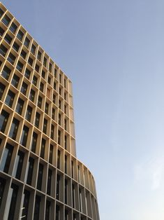 Concrete facade grid. New Ludgate by Fletcher Priest Architects.