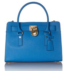Hamilton Heritage Blue Leather Tote Bag by MICHAEL Michael Kors 1f9492b9b7e