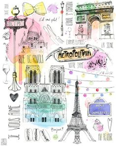 Paris illustration