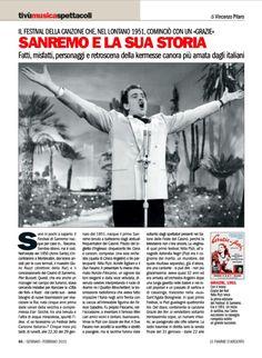 Sanremo e la sua storia. Vincenzo Pitaro su Le Fiamme d'Argento - Rivista nazionale dell'ANC Associazione Nazionale Carabinieri
