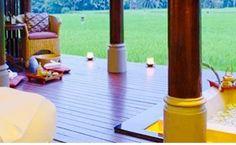 Feel Exotic At The Chedi Club Tanah Gajah, Ubud Bali. - Style and Travel Closet Lush Green, Ubud, Picnic Table, Resorts, Bali, Exotic, Hotels, Luxury, Travel