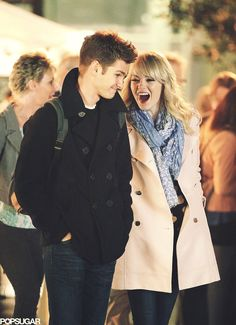 Gwen Stacy And Peter Parker In Real Life