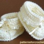 Free baby crochet pattern baby booties usa - a. Booties Crochet, Crochet Baby Shoes, Crochet Baby Clothes, Crochet Slippers, Cute Crochet, Crochet For Kids, Crochet Baby Blanket Beginner, Baby Knitting, Baby Patterns