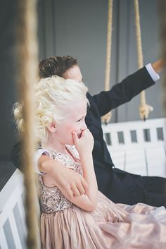 Flower girl and ring bearer Photo from Weddings collection by LundynBridge Events