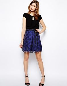 Darling - Eliza - Gonna di pizzo outfit