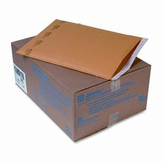 Jiffylite Self-Seal Mailer, Side Seam, #6, Golden Brown, 25/carton
