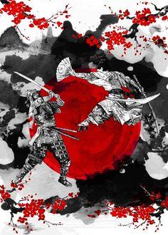 Samurai Fighting #samurai #ronin #bushido