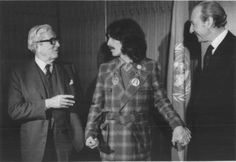 "George Harrison with Henry Labouisse, then UNICEF Executive Director, and Kurt Waldheim, then UN Secretary-General, 19 December 1974Photo: Ruby Mera""[George Harrison] was also perhaps the most generous soul in music history - certainly the man who gave away the highest proportion of his income. Maybe that's why he was so quick to leap on anyone who he thought was ripping him off. He knew that every penny stolen from him wouldn't find its way into the pockets of those much needier than…"