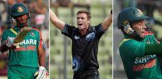 Bangladesh v New Zealand 3rd ODI at Fatullah