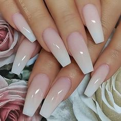 40 Pretty Nude & Ombre Acrylic and Matte White Nails Design for 40 Pretty Nude & Ombre Acryl und Matte White Nails Design für kurze und lange …. 40 Pretty Nude & Ombre Acrylic and Matte White Nails Design for Short and Long … – - Coffin Nails Designs Summer, Long Nail Designs, White Nail Designs, Nail Polish Designs, Acrylic Nail Designs, Art Designs, Design Ideas, Blog Design, Matte White Nails