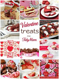 Valentine Treats at TidyMom.net