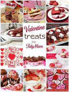 Valentine Treats via TidyMom! xo