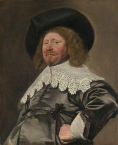 Portrait of a Man, Possibly Nicolaes Pietersz Duyst van Voorhout (born about died frans Hals / Rembrandt Johannes Vermeer, Rembrandt, List Of Paintings, Oil Paintings, Portrait Paintings, Sir Anthony, Dutch Golden Age, Baroque Art, Dutch Painters