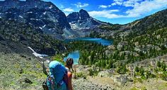 Alpine bliss in the Wind River Range, Wyoming