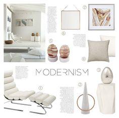 """Modernism"" by c-silla ❤ liked on Polyvore featuring interior, interiors, interior design, home, home decor, interior decorating, NOVICA, H&M, Williams-Sonoma and Tom Dixon"