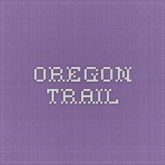 Oregon Trail lesson plans, with scenarios and family activities.