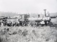 It's time for some Throwback Thursday! This photograph of the Big Stony Railroad's Steam Engine No. 1 dates to November 1896.  The Virginia General Assembly chartered the Big Stony Railroad in Giles County in 1892, and the company organized two years later. By 1896, construction of 10½ miles of track was completed from the main Norfolk and Western line near the New River, up Big Stony Valley, to the settlement of Interior.  www.nscorp.com