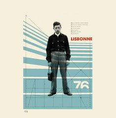 Beautiful collage work from Lisbon based designer Cristiana Couceiro Typography Inspiration, Graphic Design Inspiration, Typography Design, Modern Graphic Design, Graphic Design Illustration, Graphic Art, Vintage Graphic, Illustration Art, Helmut Schmid