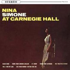 Nina Simone - Nina Simone At Carnegie Hall on 180g Import LP