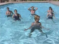 Strength and power water arobics