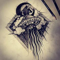 Quick sketch time  #ufosketch #ufo #ovni #ibelieve #everybodyisfuckinginaufo #tattoo #blackworkers #flashworkers #tattooflash #ufotattoo #blackart #darkartists