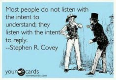 People's intent when they listen...