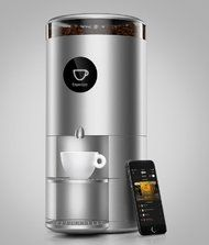 """New york Times: """"Spinn, the coffee maker, said its machine can brew anything from drip coffee to espresso, depending on how fast the brewer spins."""""""