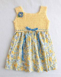 Cross Stitch Sundress Crochet Pattern PDF by Maggiescrochet