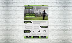 Business Solution Flyer Template 05 by Creative Design on Creative Market