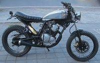 Yamaha Scorpio custom motorcycle Bali    Gallery | Island Motorcycles