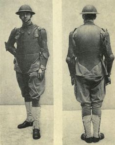 The Chubachus Library of Photographic History: Experimental Light Body Armor and Helmet Developed by the Ordnance Department Branch of the United States Army During World War 1