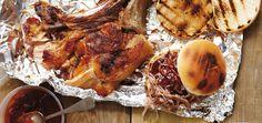 Épaule de porc effilochée de Bruce Banfill (pulled pork) version sur le barbecue au gaz Recettes   Ricardo