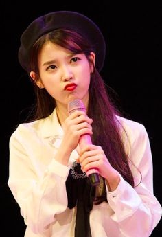 she is too cute. My heart flutters if you pout like that! Can I keep you in my pocket. This world is so cruel I'll protect you my precious cutie pie 💜 💜 💜 Poem mister # producers
