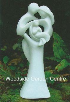 Enigma Small Contemporary Circle of Life Garden Statue | Woodside Garden Centre | Pots to Inspire